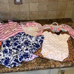 Other - Newborn baby girl 0-3! Onsies,dresses,sleep sacks!
